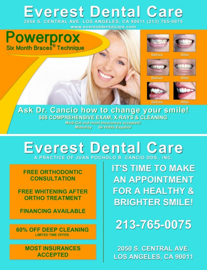 Everest Dental Care Specials